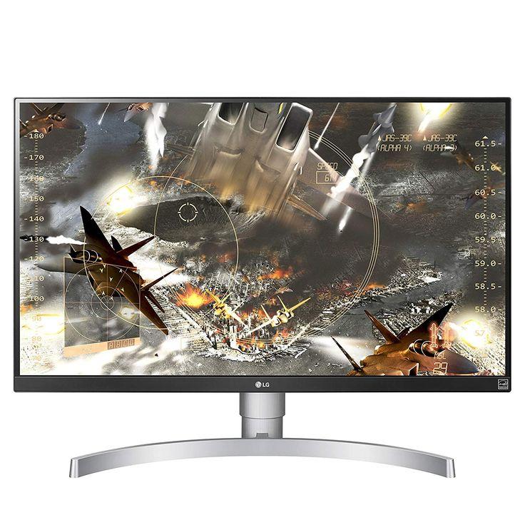 LG 27UK650-W 27 4K UHD IPS Monitor with HDR10 and AMD FreeSync Technology (2018)