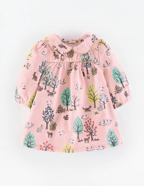 Charming Printed Cord Dress 73173 Clothing at Boden