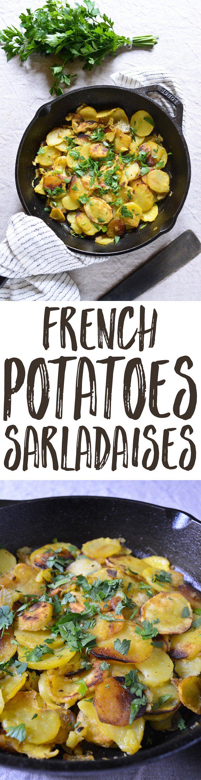 Curious how to make the divine Potatoes Sarladaises they serve with duck confit in the Périgord? Here's the simple fail-safe recipe you've been looking for!