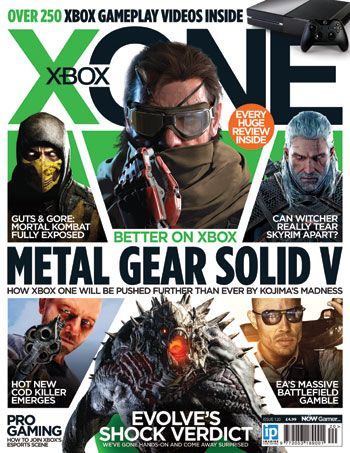X-ONE is the UK's best Xbox One magazine for any gamer that has an interest and passion for the world's hottest gaming console. Issue 120 of X-ONE is packed full of big names. From Metal Gear Solid V: The Phantom Pain to Evolve, The Witcher 3 and Assassin's Creed Victory, we've got the coverage you want for the latest games. Plus, this month we show you how you can make money from gaming, as well as all the previews and reviews you love.
