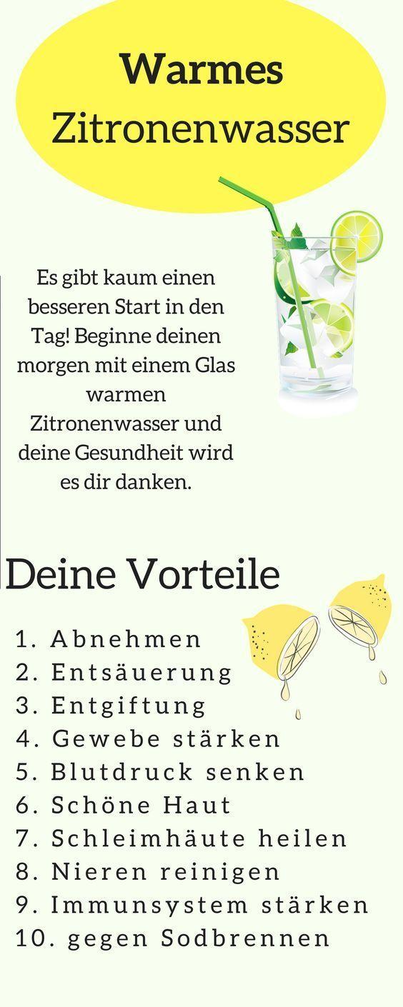 10 tolle Vorteile wenn du täglich morgens Zitronensaft trinkst. Zitronensaft ab…