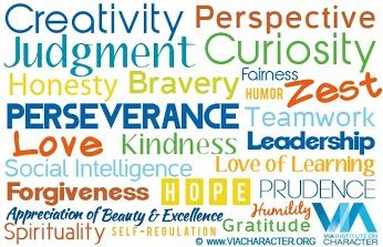 24 character strengths Via Institute On Character - Google+ #VIAstrengths