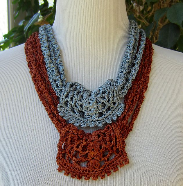Ravelry: Bohemian Necklaces pattern by Julie Blagojevich