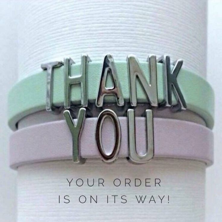 Thank You Your Order Is On Its Way Keep Collective