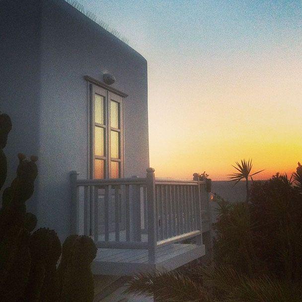 Sunset @ Belvedere Hotel Mykonos #mykonos #greece #paradise // http://instagram.com/yatzer