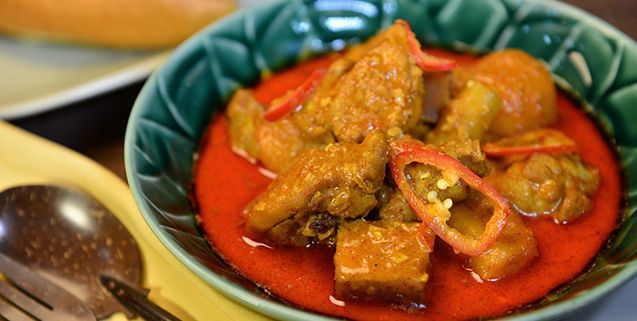 Chicken Curry in Coconut Milk   Asian Food Channel