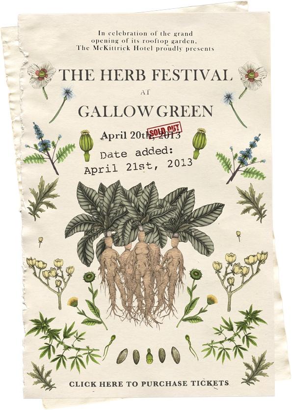 The McKittrick Hotel   Herb Festival