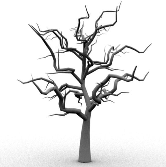Scary Tree 3d Model Ad Scary Tree Model Art Inspiration Drawing Scary 3d Model