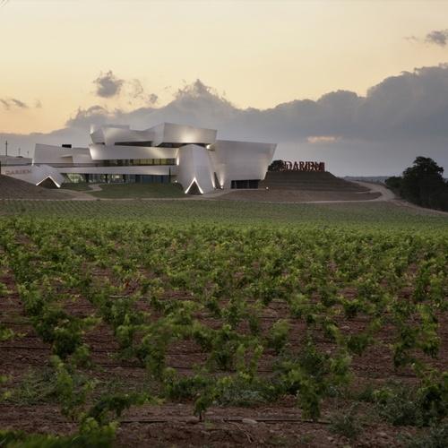 Spain, La Rioja, Logroño, Bodegas Darien,  JMP Arquitectos