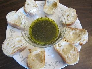 Pesto Bread Dipping Oil Mix
