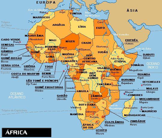 Resultado de imagem para atlas geografico africa