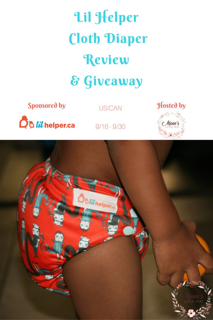 Lil Helper Cloth Diaper review