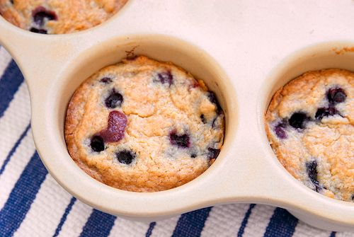 Mini Blueberry Streusel Coffee Cakes | Bake or Break - ways to use my single serving Pampered Chef stoneware
