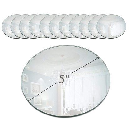 Home Mirror Candle Plate Small Round Mirrors Round Mirrors