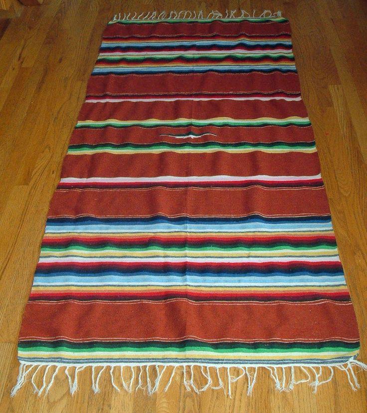 Vintage mexican blanket Popular