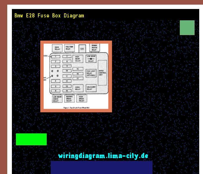 Bmw E28 Fuse Box Diagram  Wiring Diagram 175254