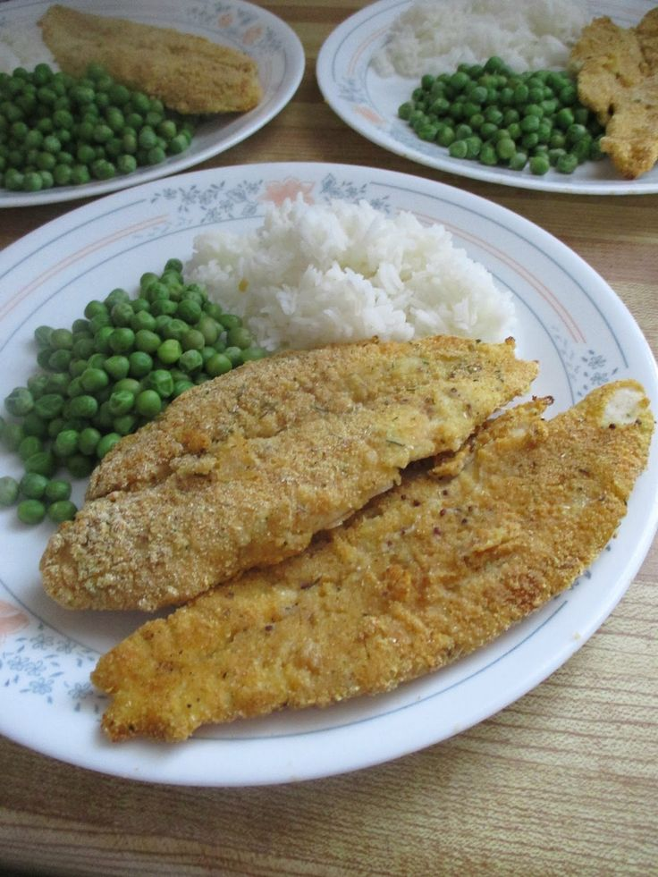 Have you had trouble with soggy fish fillets? You won't with this recipe.        400 g basa fillets, or any white fish  1/4 cup milk  1/2 ts...