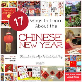 The Educators' Spin On It: Chinese New Year Activities and Crafts {After School Linky Party Week 4}