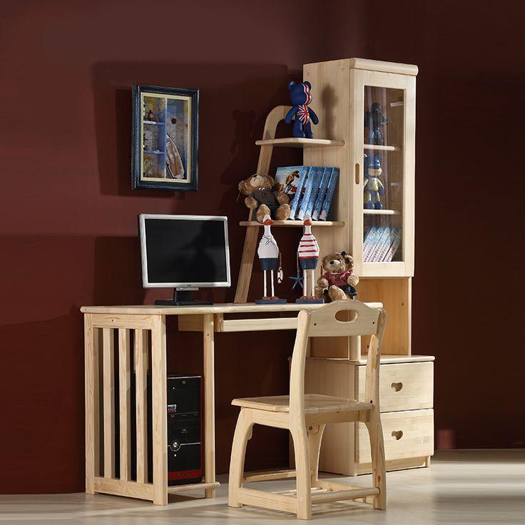 Высокий детский деревянный стол с пристроенным шкафчиком и подставкой под системный блок и клавиатуру купить в интернет-магазине https://lafred.ru/catalog/catalog/detail/40954216557/