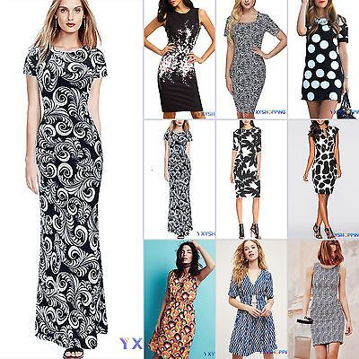 Boho sexy women floral printed party evening #cocktail summer #beach #dress uk 6-,  View more on the LINK: http://www.zeppy.io/product/gb/2/381683123522/