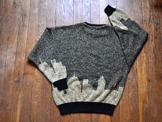 New York Skyline Sweater di Livsloves su Etsy