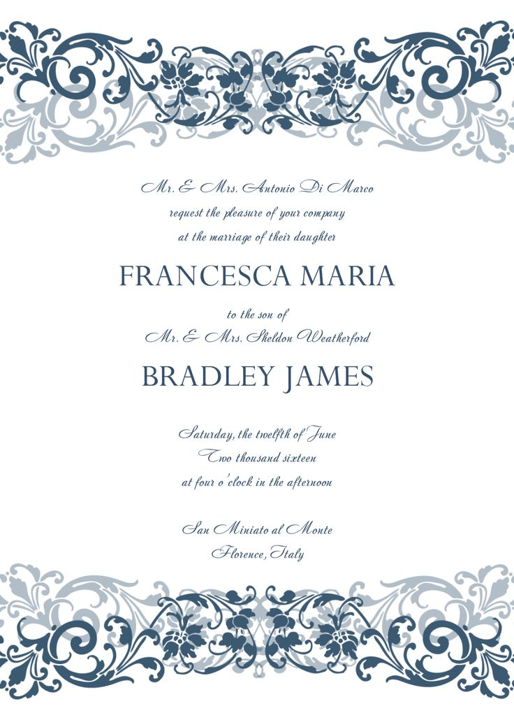 705 best Invitations Card by Nataliesinvitation images on - free invitation card templates for word