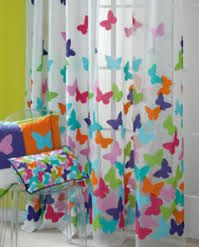 Leroy merlin cortina ducha mariposas s r l h g r - Telas cortinas infantiles ...