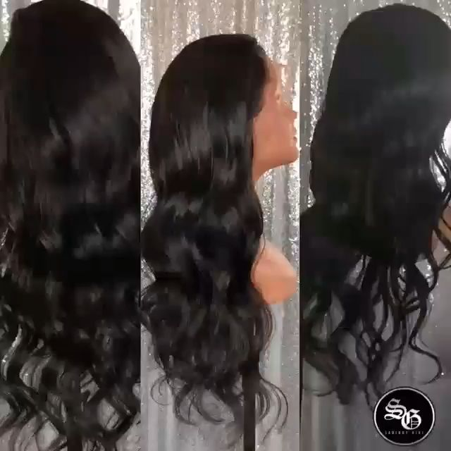Unfastened Physique Wave 6″ Entrance Lace Wigs