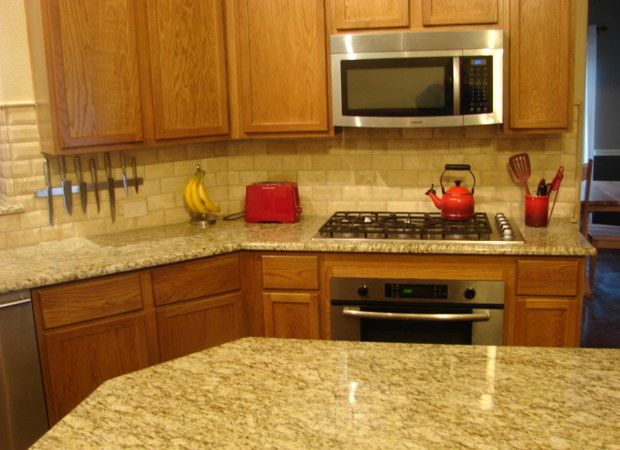 Santa Cecilia Granite And Backsplash Google Search Kitchen Remodel Pinterest Santa