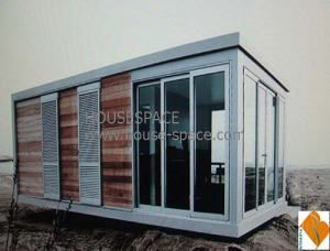 Intrigued by the potential. Listed as $3600 each, shipped from China. You have to order 4, but could configure them, maybe, to make a larger house...CE Certificed Container Foldable House with Full-Glass