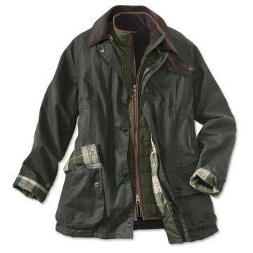 """Flawless Barbour styling takes form in one of the company's most iconic jackets. Thornproof waxed cotton outer shell shuns rain and mist. Cozy cotton body lining keeps in warmth. Soft corduroy collar. Sturdy front zipper with snap storm flap. Handwarmer and snap pockets in front. Polyester sleeve lining. Sponge clean only. Imported.  <br />US sizes 4-16; about 28½"""" long. <br /><li />For best fit, order your normal size."""