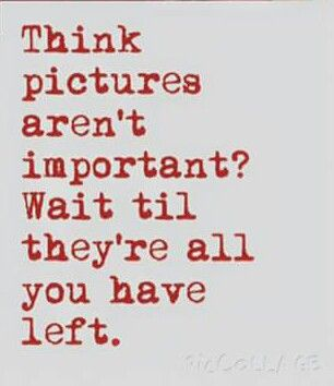 Think pictures aren't important?