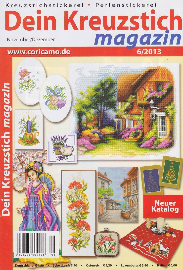 DEIN KREUZSTICH MAGAZIN №6 2013