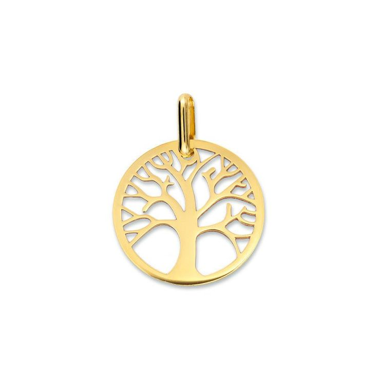 Medaille Arbre de vie Mon Premier Bijou Médaille Arbre de vie ajourée (or jaune 18ct) sur PremierCadeau.com