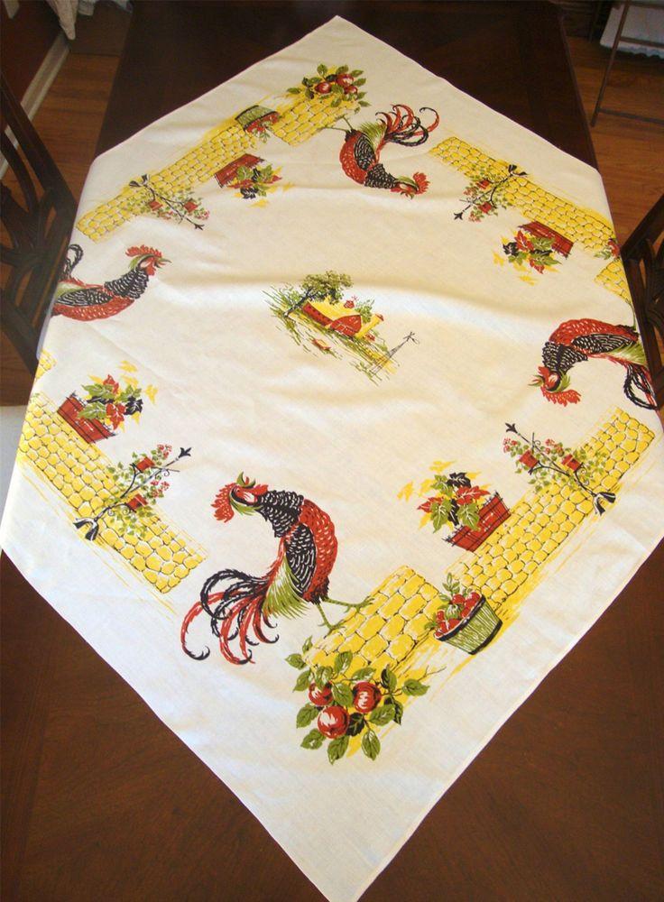 Best 25 Kitchen tablecloths ideas on Pinterest  Vintage