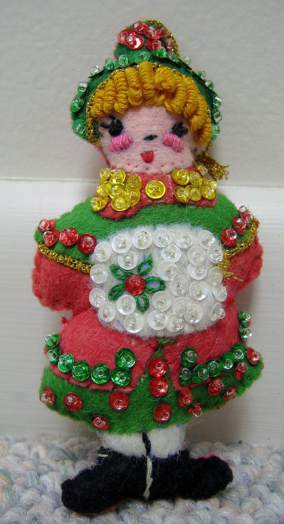 M s de 1000 ideas sobre ornamentos de navidad vintage en - Ornamentos de navidad ...