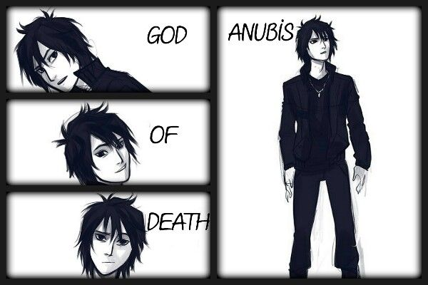 Anubis, God of Death <<< more like god of perfection XD