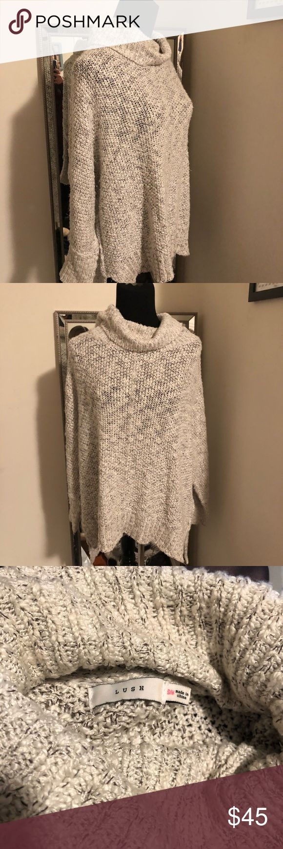 Turtleneck Sweater From a boutique called apricot lane in CT. Amazing quality, worn a handful of times but in super great condition. S/M Lush Sweaters Cowl & Turtlenecks