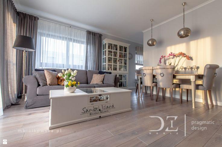 Salon styl Prowansalski - zdjęcie od Doriz Pragmatic Design - Salon - Styl Prowansalski - Doriz Pragmatic Design