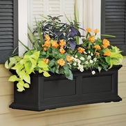 Window box from Gardeners.com Like the plant combinations The Fairfield Windowbox features