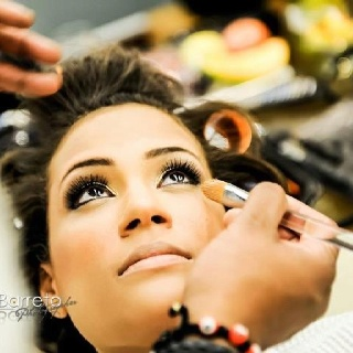 Make-up bride