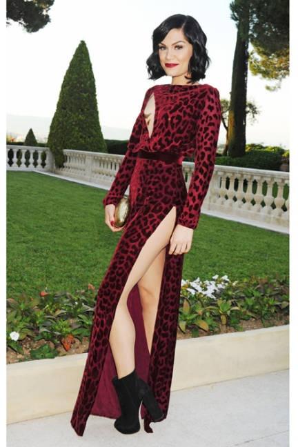 The 2012 Cannes Red Carpet  Jessie J in Louis Heal at the amfAR Cinema Against AIDS gala.