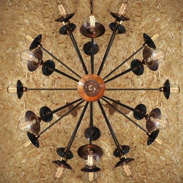 Tokyo sputnik chandelier