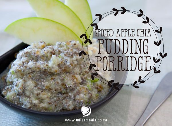 Mila's Meals Chia Pudding Porridge Recipe. I love this recipe so much – it is quick and easy to make the night before while you are in the kitchen prepping dinner anyway.   From the Mila's Meals Online recipe Advent Calendar. All recipes are gluten-free, sugar-free and dairy-free.