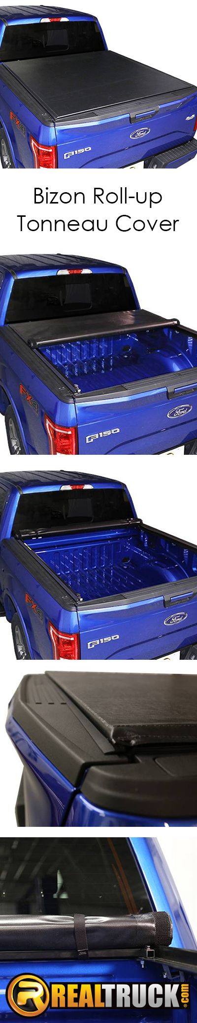 A truck bed cover is one of the most common items added to any pickup truck. There are several reasons why but the top three are cargo protection, better fuel economy, and it makes the truck look good. You'll get all 3 of those benefits and keep more money in your pocket with a Bizon roll-up tonneau cover!