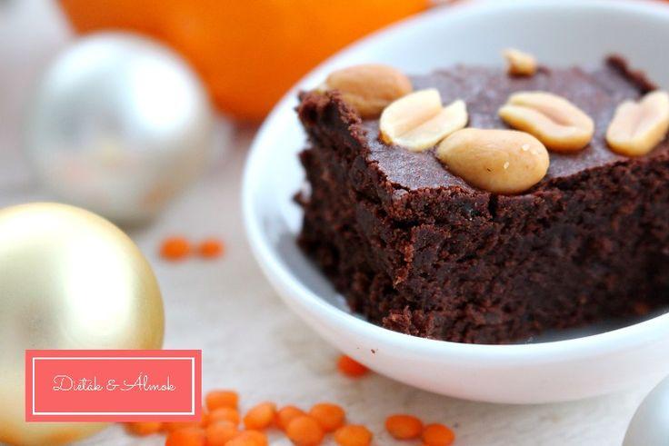 Narancsos-lencsés brownie - MINDENMENTES