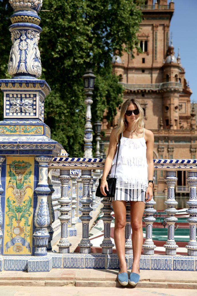 Seville Fashion: Seville Sights (Fashion Me Now)