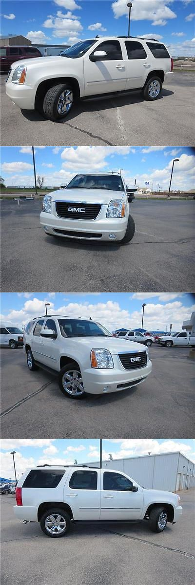 SUVs: 2010 Gmc Yukon Slt 2010 Gmc Yukon Slt Diamond White Suv V-8 Automatic -> BUY IT NOW ONLY: $19913 on eBay!