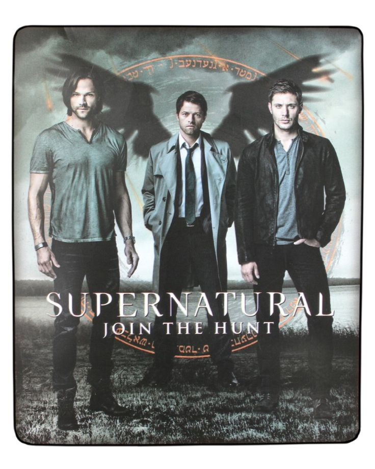 "Amazon.com - Supernatural Join The Hunt Fleece Blanket 40""x60"" -"
