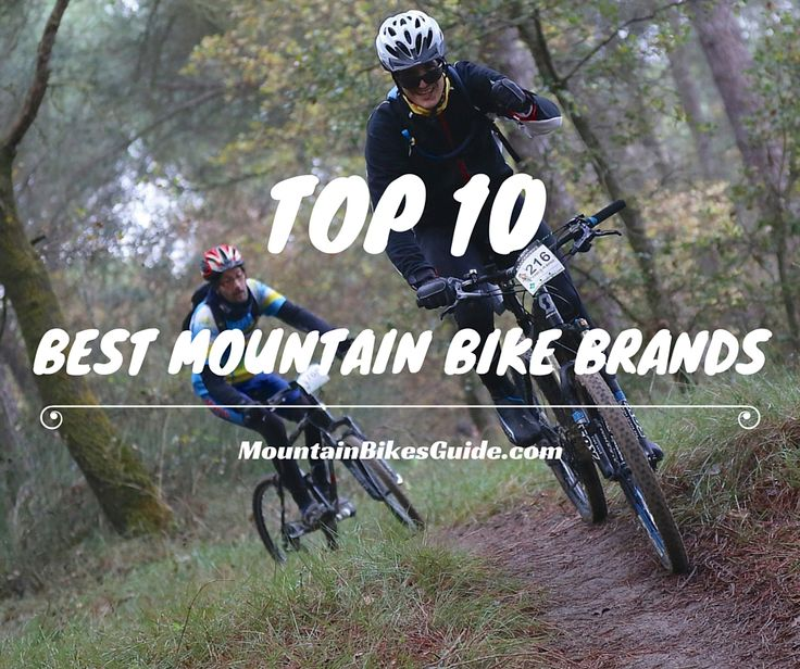 2015's 10 Best Mountain Bike Brands